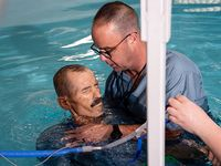 Man baptized in UAB pool with only days left to live