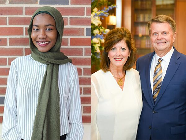 UAB student, donors honored with national Collegiate Recovery awards