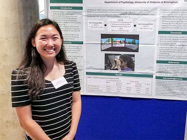 UAB math, public health undergraduate students shine at international research conference