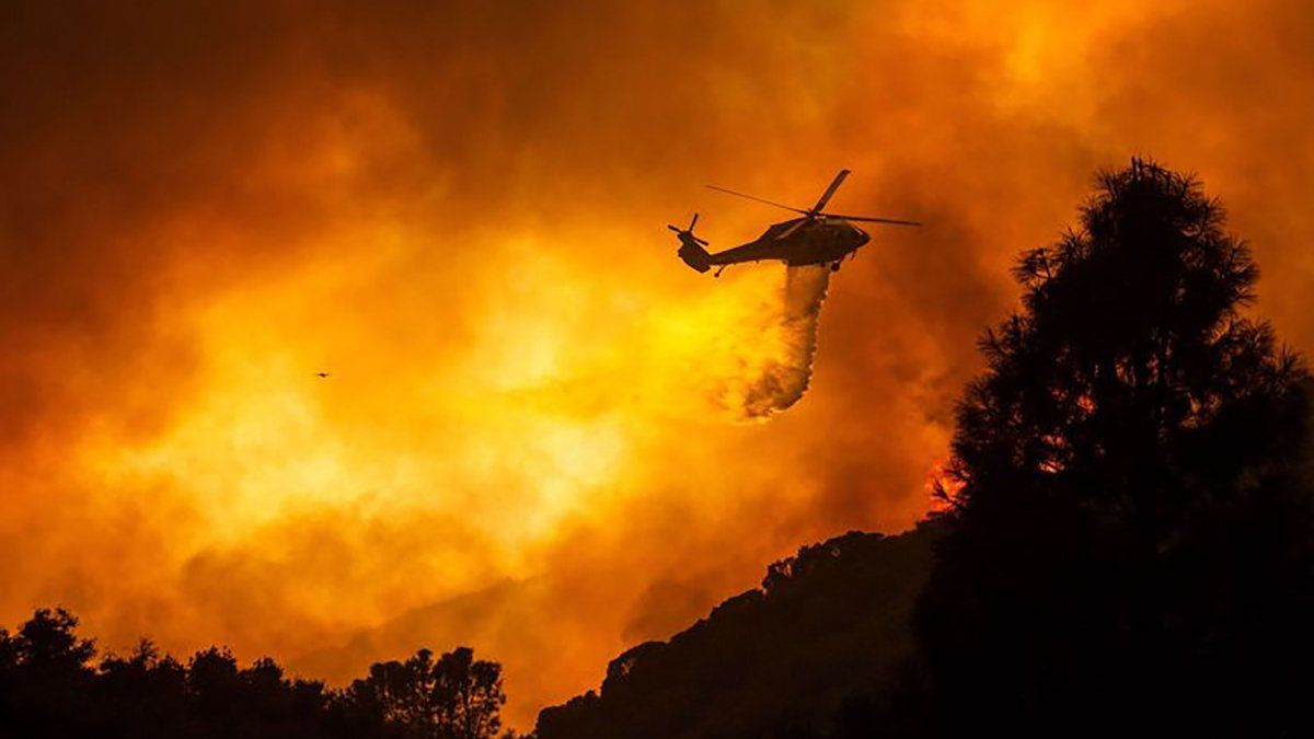 Дым от лесных пожаров в США достиг Европы