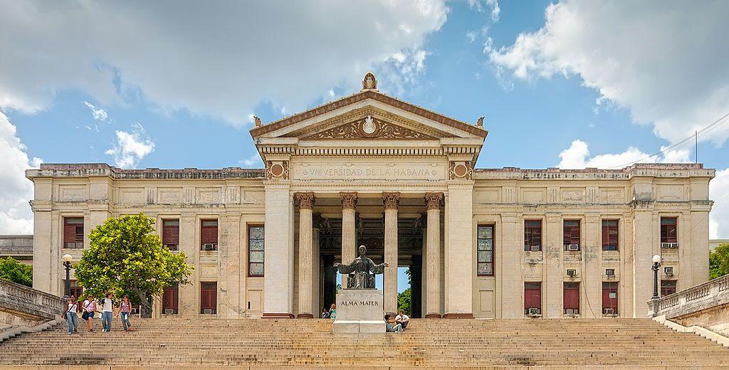 Universität von Havanna | Bildquelle: https://commons.wikimedia.org/wiki/File:Front_view_of_Universidad_de_La_Habana.jpg © Anton Zelenov CC BY-SA (https://t1p.de/hqo7) | Bilder sind in der Regel urheberrechtlich geschützt