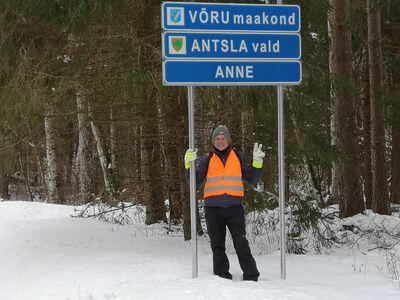 FOTOD Jalgsi ümber Eesti – matkasell jõudis Võrumaale