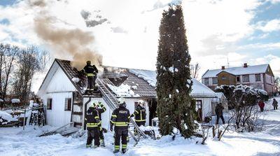 Täiendatud! Võru linnas põles elumaja