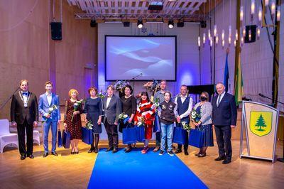 FOTOD JA VIDEO Võru linna vabariigi aastapäeva vastuvõtt-kontsert peeti videosilla vahendusel