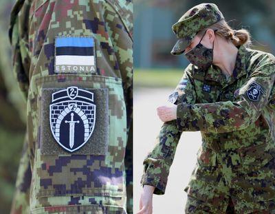 22. jalaväepataljon osaleb Kevadtormil oma embleemi kandes