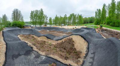 Põlva järve rannaalal avatakse peagi pumptrack
