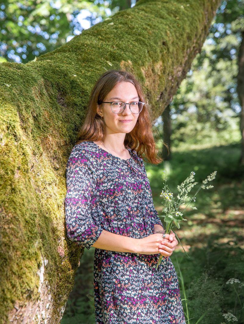 Gümnaasiumi kuldmedaliga lõpetanud Diana Liiv soovitab õppimisprotsessi järjepidevana hoida
