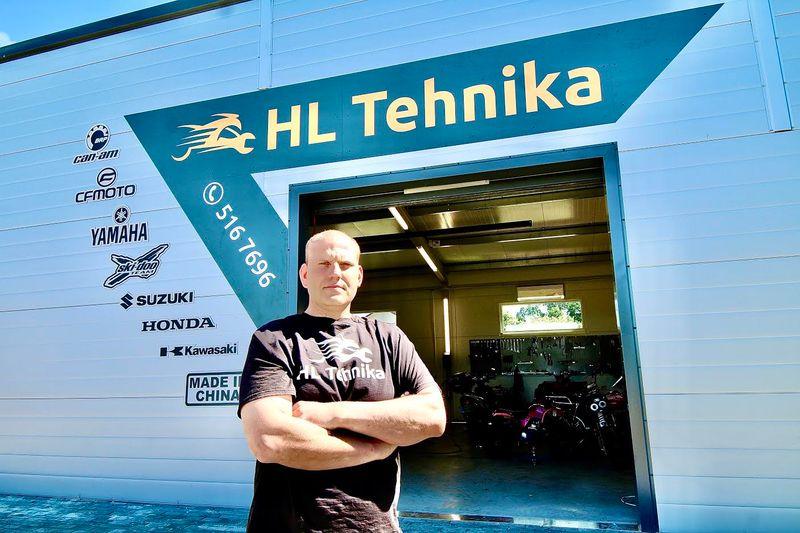 HL Tehnika = Hendrik Lauri tehnika hobihall on avatud