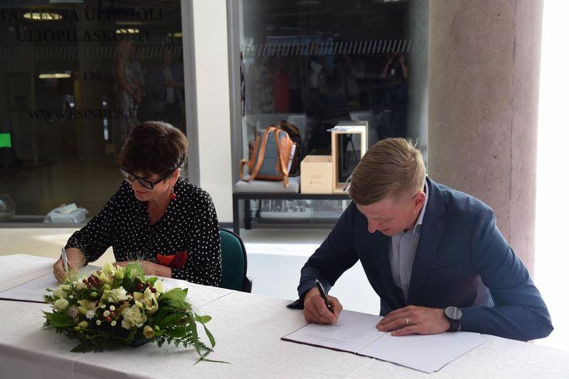 Võrumaa Arenduskeskus ja Tallinna Ülikool sõlmisid koostöö raamlepingu