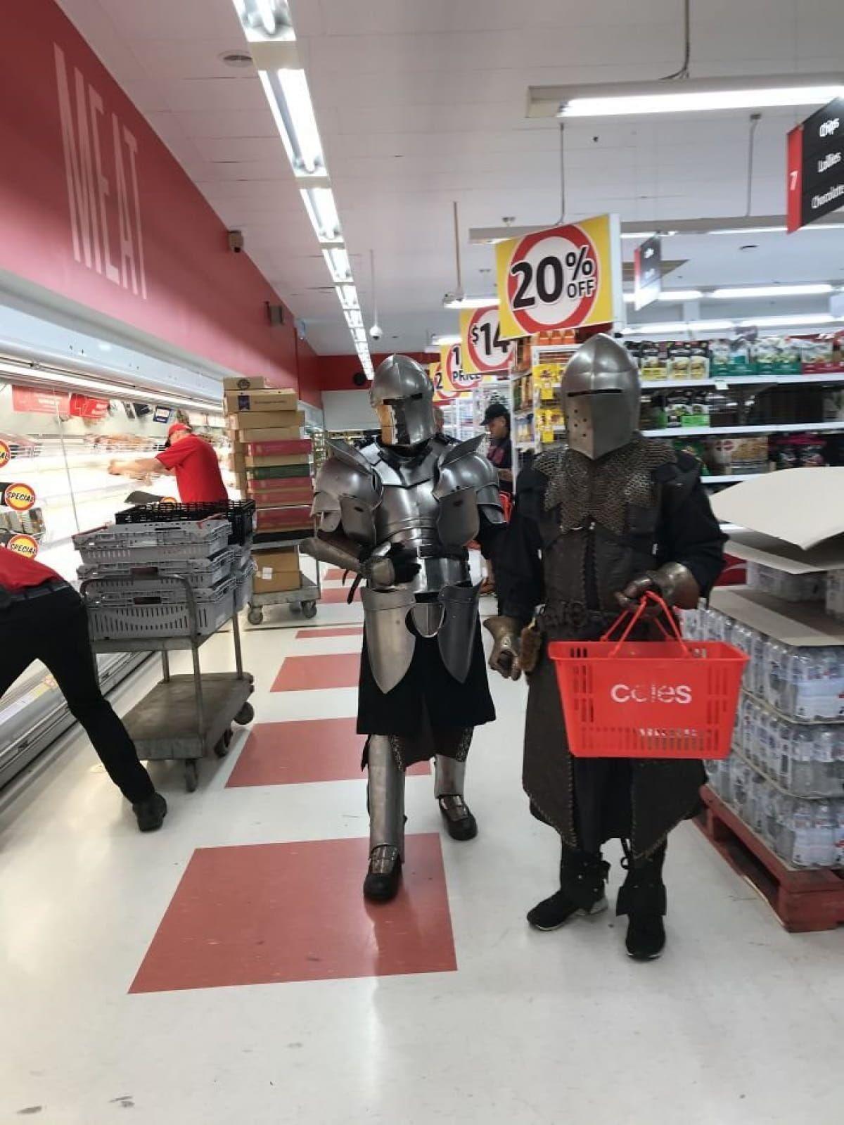 Справжні лицарі завжди напоготові
