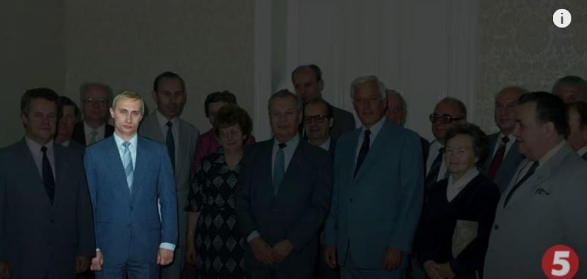 Молодий Путін