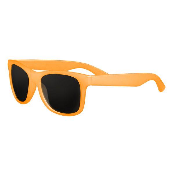 Sonnenbrille mit Farbwechsel in orange
