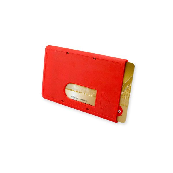 Card-Holder in rot