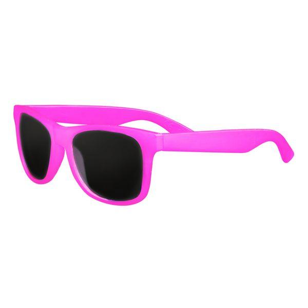 Sonnenbrille mit Farbwechsel in pink
