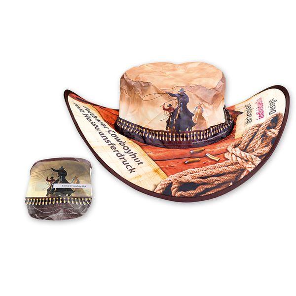 Faltbarer Cowboy-Hut, individuell