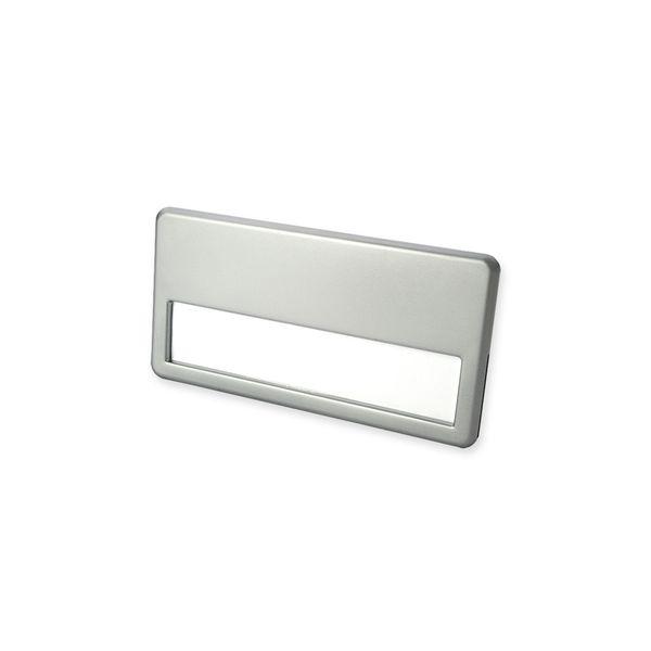 Namensschild mit Metalllegierung schwarzer Magnet
