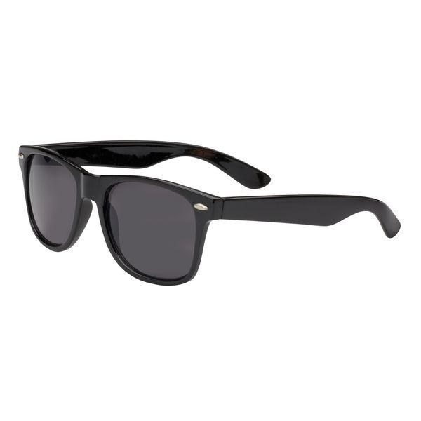 Agentenbrille, in schwarz