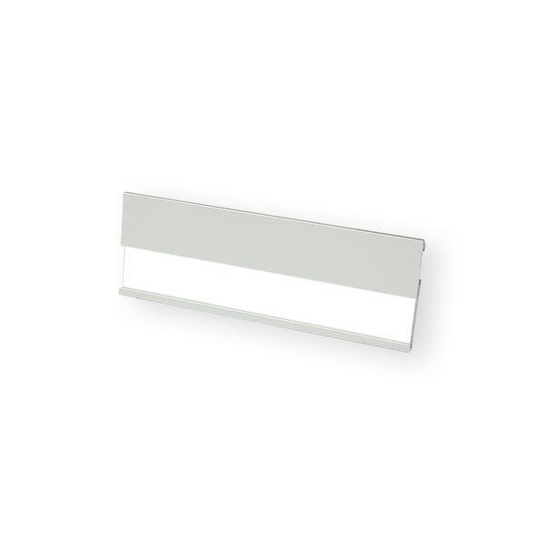 Profil-Namensschild aus Aluminium 70 x 25 mm