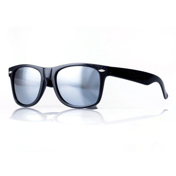 Agentenbrille, verspiegelte Gläser