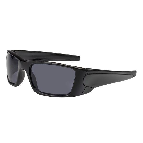Sonnenbrille ganzer Kunststoffrahmen in schwarz