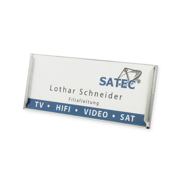 Aluminium-Schild - extrem flach - Citec® Magnet