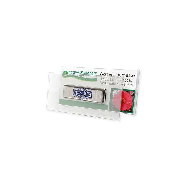Namensschild mit CITEC Magnet Einlage 70 x 35 mm
