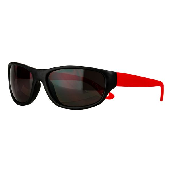 Sportbrille schwarz-rot