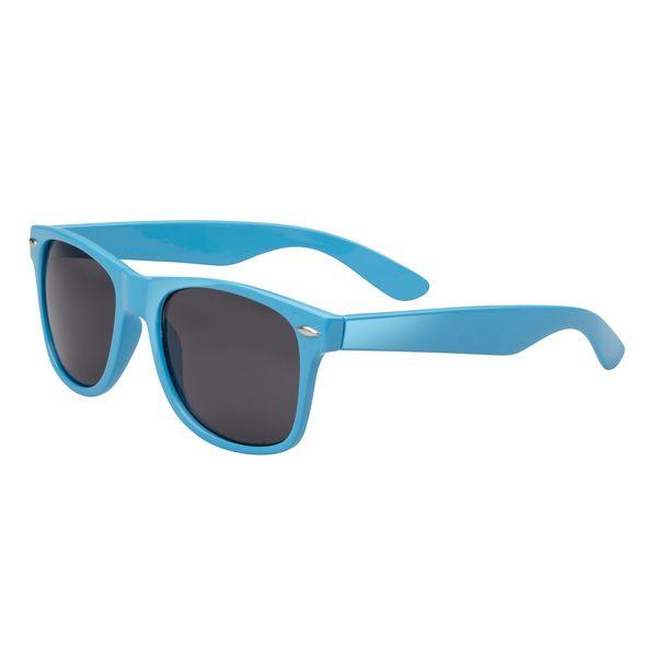Agentenbrille, in blau