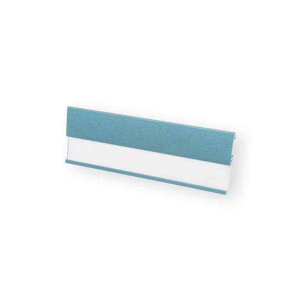 Profil-Namensschild in hellblau mit Magnet