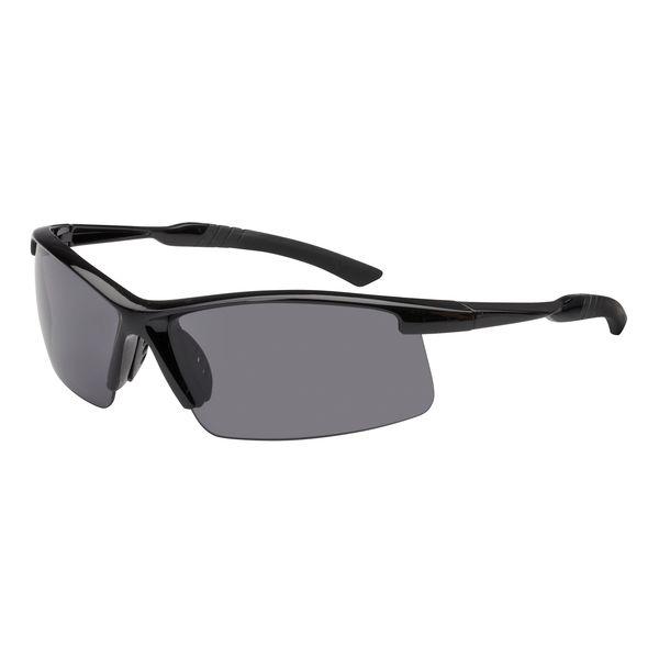 Sonnenbrille halber Rahmen in schwarz UV-400