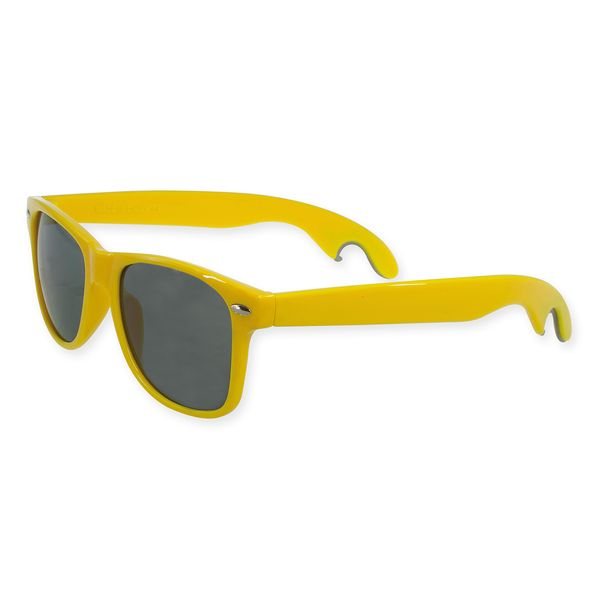 Agentenbrille mit Kapselheber in gelb