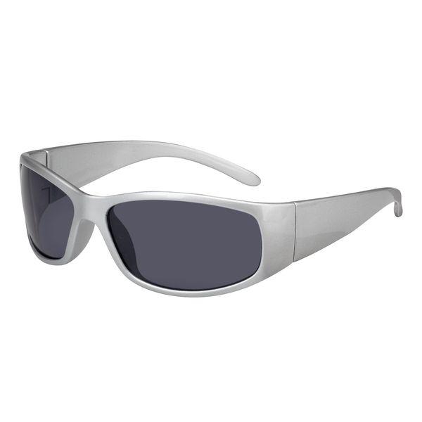 Sonnenbrille große Druckfläche auf den Bügeln