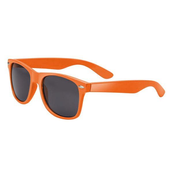Agentenbrille, in orange