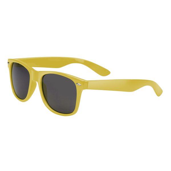 Agentenbrille, in gelb