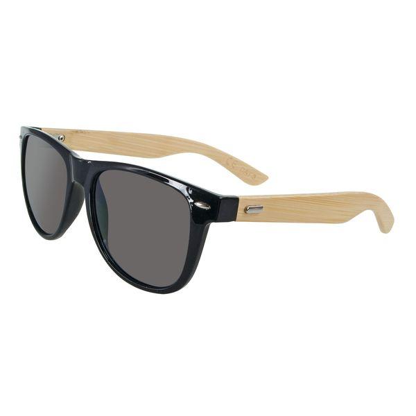 Sonnenbrille Bambus Echtholz Bügel UV-400 Schutz