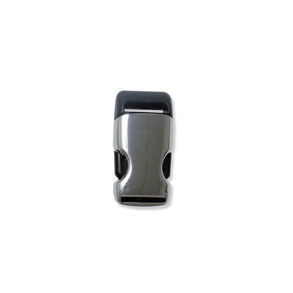 Kunststoff-Metall-Steckverschluss, lang