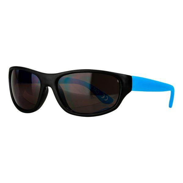 Sportbrille in schwarz-blau