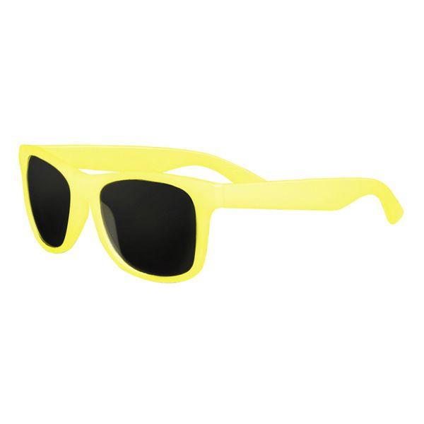 Sonnenbrille mit Farbwechsel in gelb
