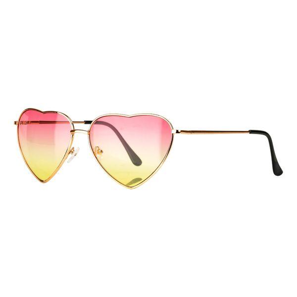 Sonnenbrille in Herzform Gläser UV-400 Schutz