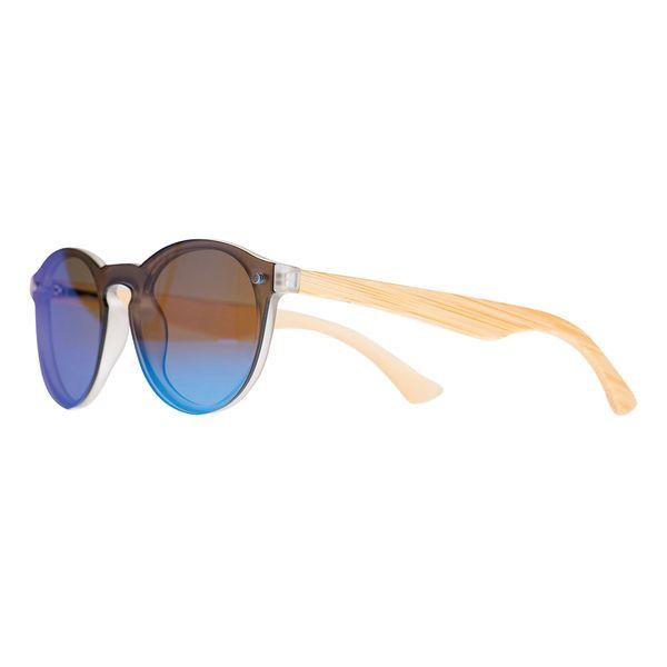 Sonnenbrille Layer Look Bügel auch Echtholz Bambus