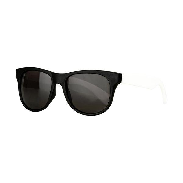 Sonnenbrille Rahmen schwarz - Bügel weiß