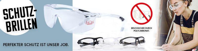 Schutzbrillen mit UV-400 Schutz