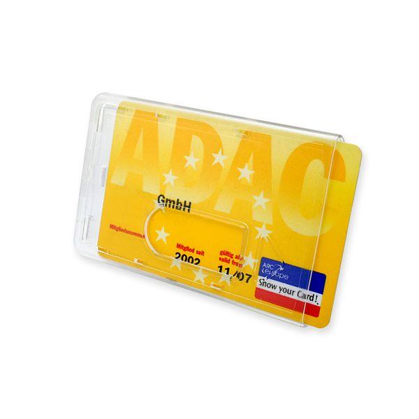 Scheckkartenhalter Oberfläche leicht genarbt