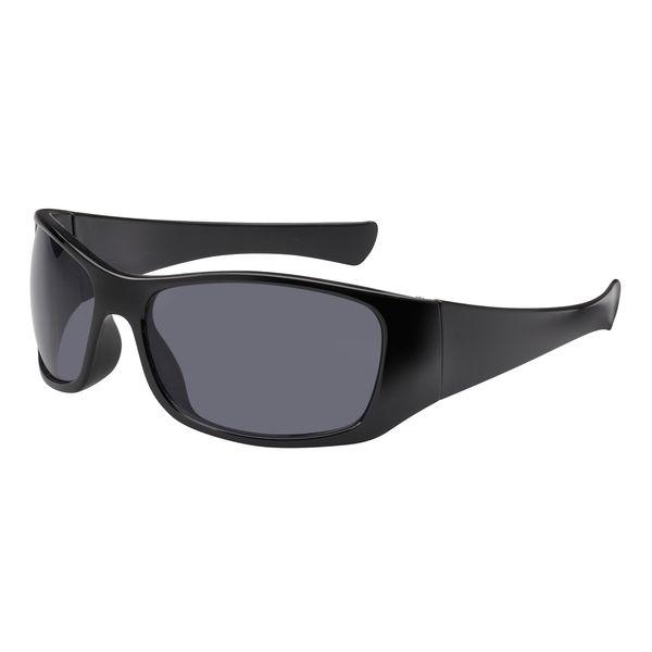 Sonnenbrille Bügel und Rahmen in schwarz UV-400