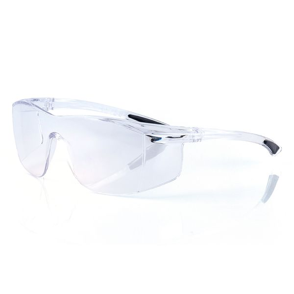 Moderne Schutzbrille transparent mit UV-400 Schutz