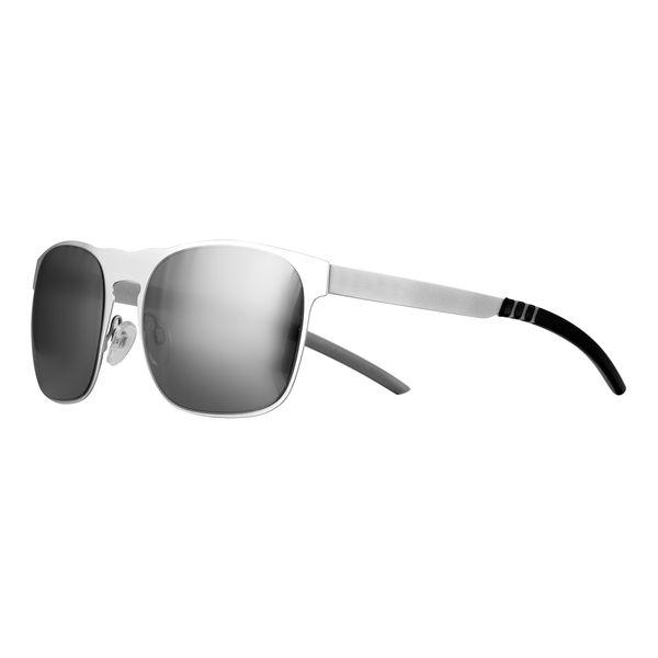 Sonnenbrille mit Metallbügeln matt UV-400 Schutz