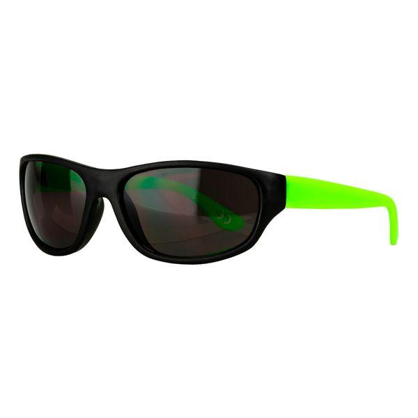 Sportbrille in schwarz-grün