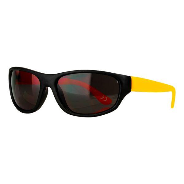 Sportbrille in schwarz-orange