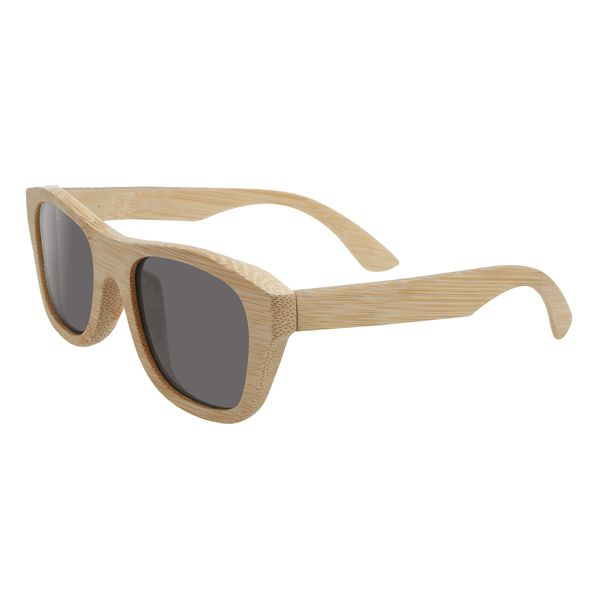 Sonnenbrille - Bambus - Echtsholz - Gläser getönt
