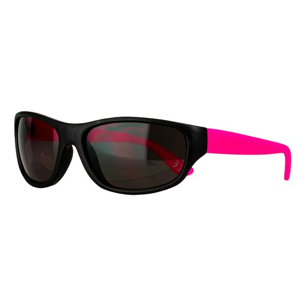 Sportbrille in schwarz-pink